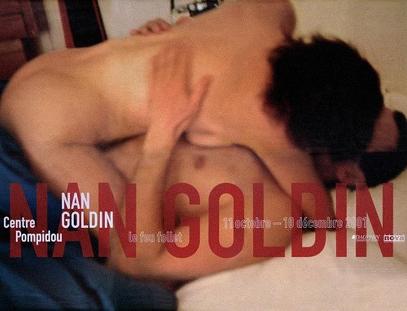 Nan Goldin - Le feu follet - Centre Pompidou, Paris, 2001